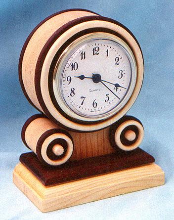 Mini Grecian Clock