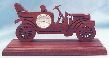 Old Car Clock