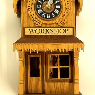 Santas Workshop Clock