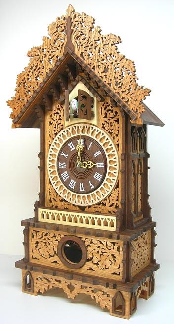 Marshall mantle cuckoo the art factory - Cuckoo clock plans ...