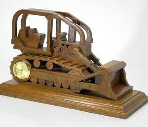 3-D Bulldozer