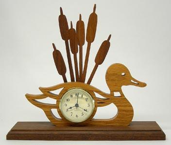 Mallard Clock