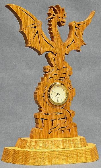 Dragon Mini Clock
