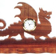 Dragon Desk Clock
