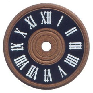 Wooden Cuckoo-Style Dial 3-1/8""