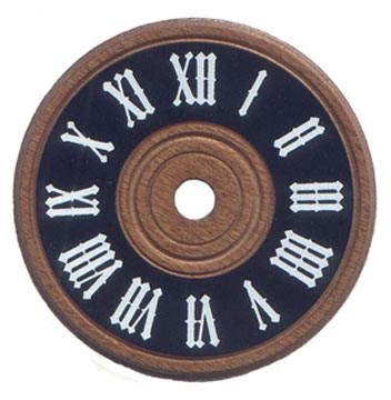 """Wooden Cuckoo-Style Dial 3-1/8"""""""