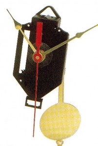 Non-Chiming Quartz Movement (With Pendulum)