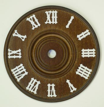 Wooden Cuckoo-Style Dial - 4-3/8""