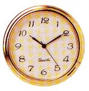 "2"" Ivory Arabic Clock Insert"