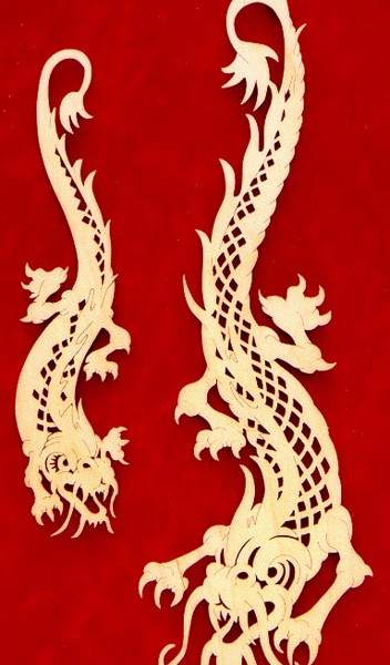 Wall Dragons