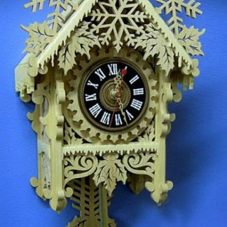 Snowflake Clock Package