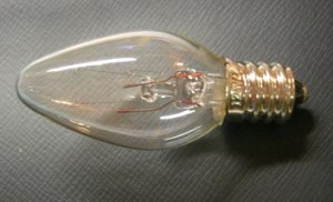 4-Watt Clear Nightlight Bulb