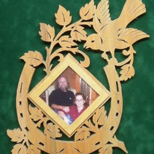 Good Luck Photo Frame